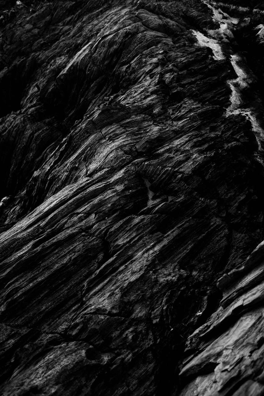 gray rock rough surface