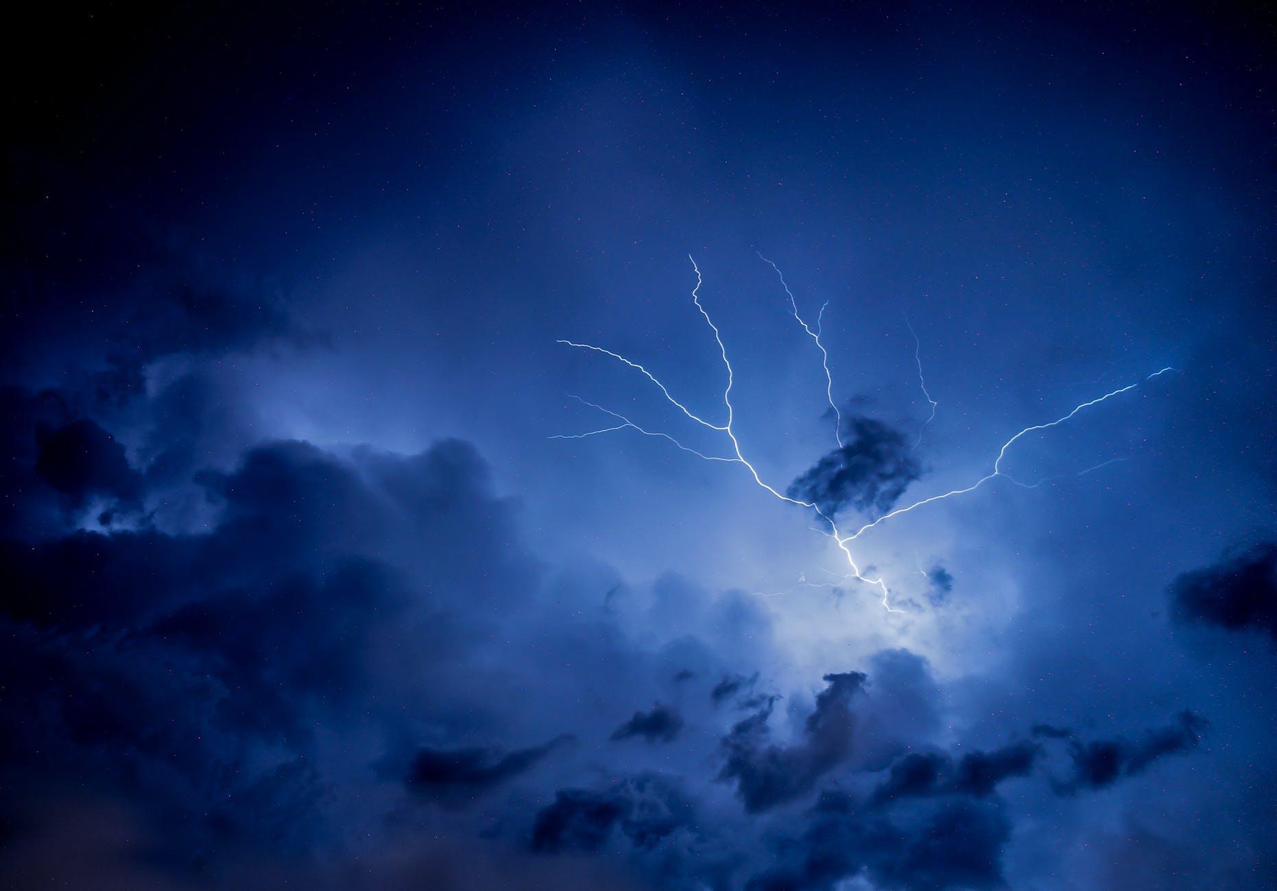 photo of thunderstorm